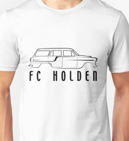 FC Wagon - black print Unisex T-Shirt