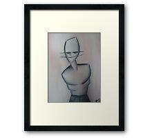 manliness. Framed Print
