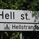 Highway to Hell Street and Hell's Beach. by ellismorleyphto