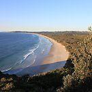 Wake Up Australia! - Tallow Beach, Byron Bay. by Bree Lucas