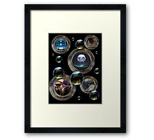 Portals in Time Framed Print