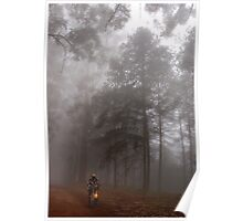 THE MIST, THE BICYCLE MAN AND THE LANTERN Poster