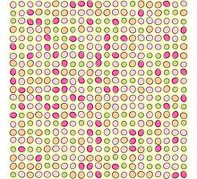 Colorfull Polka Dot Photographic Print