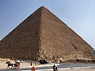 Pyramid of Khufu/Egypt by Nancy Richard