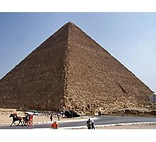 Pyramid of Khufu/Egypt Photographic Print