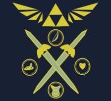 Winged Triforce Kids Clothes