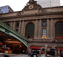 Grand Central Station NYC by Helen Shippey