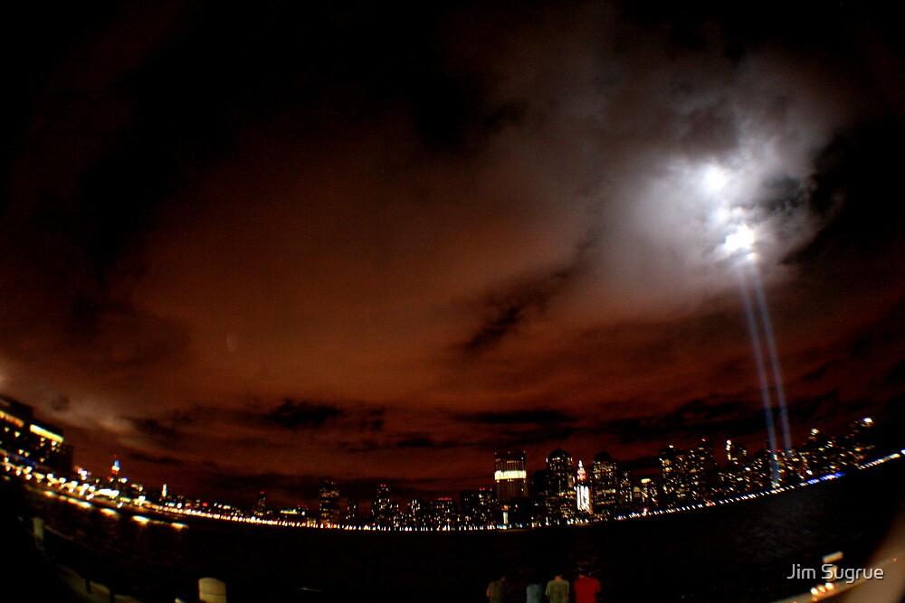 NYC Skyline Sept. 11, 2010 by Jim Sugrue
