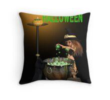 Happy Halloween Throw Pillow