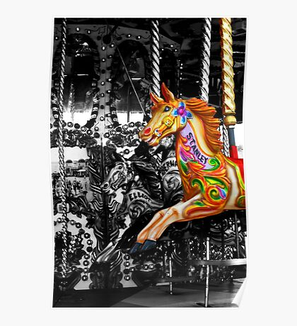 Carousel in isolation Poster