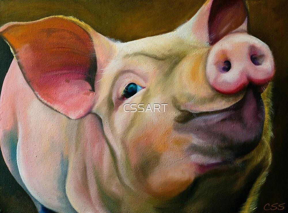 Percy Preston Pig by CSSART