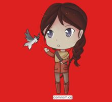 Katniss Everdeen Chibi by KlockworkKat by commonroompc