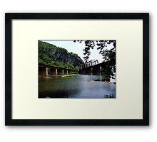 Railroad Bridges Framed Print