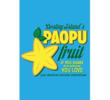 Paopu Fruit - Kingdom Hearts Photographic Print