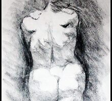 Charcoal Figure Drawing II by ChristianeW