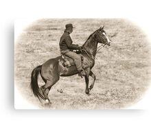 Horse Soldier Canvas Print
