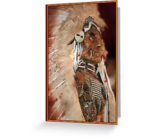 CHIEF 2 Greeting Card