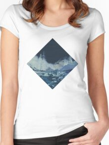 Into the Woods Invert Women's Fitted Scoop T-Shirt