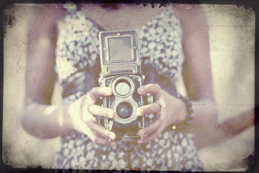 Vintage Medium Format Camera by Sharonroseart