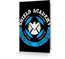 S.H.I.E.L.D. Academy (BLACK) Greeting Card