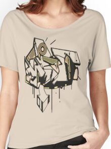 graffiti Women's Relaxed Fit T-Shirt