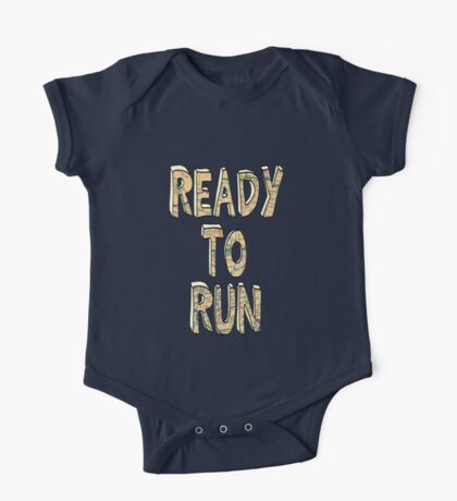 Ready To Run - One Direction One Piece - Short Sleeve