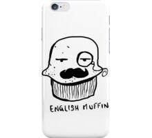 English Muffin Cartoon iPhone Case/Skin