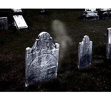 Sleepy Hollow Cemetery, NY Photographic Print