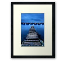 Take me to the river Framed Print