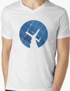 Blue Wires Overhead  T-Shirt
