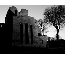 Boyle Abbey B/W edit Photographic Print