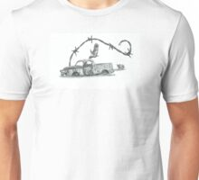 Old Ute in a Paddock Unisex T-Shirt