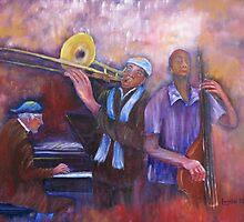 Jazz Men by Loretta Luglio