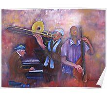 Jazz Men Poster