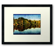 Reflections of Autumn ©  Framed Print
