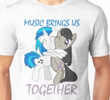 Music brings us together Unisex T-Shirt