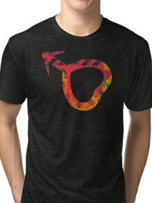 Sailor Mars grunge symbol Tri-blend T-Shirt