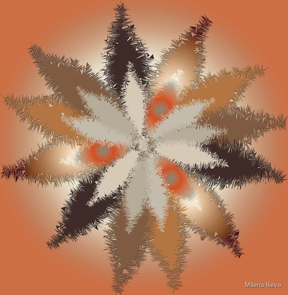 Fall Leaves 2 by Milena Ilieva