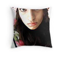 Hypnotized much?! ;) Throw Pillow