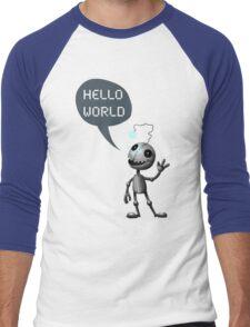 Hello World! Men's Baseball ¾ T-Shirt