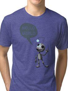 Hello World! Tri-blend T-Shirt