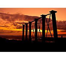 Solway Coast Sunset Photographic Print