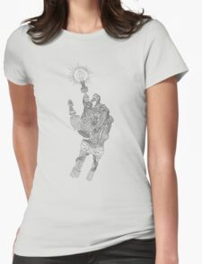 Mechanical Genius Womens Fitted T-Shirt