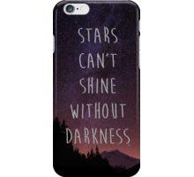STARS QUOTE iPhone Case/Skin