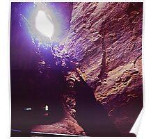 "Old iron mine - Vieja mina de hierro - ""La Jayona"" Poster"