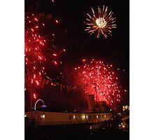 Firework burst! Photographic Print