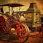 Early Traction Engine by Simon Duckworth