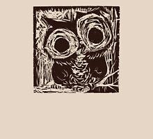 Owl Woodcut Unisex T-Shirt
