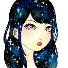Starry-eyed in space  by jessthechen