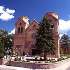 Cathedral Basilica of St Francis ( Santa Fe NM.) by Paul Albert